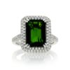 Tsavorite RingStyle #: PD-LQ11033L