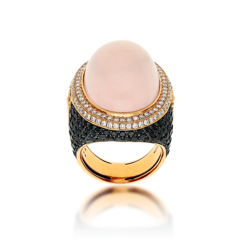 Pink Quartz RingStyle #: PD-LQ12597L