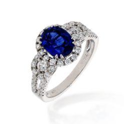 Sapphire Ring<br>Style #: PD-LQ14250L