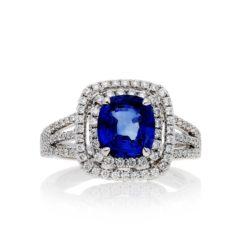 Sapphire Ring<br>Style #: PD-LQ14886L