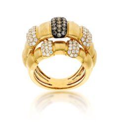 Brown Diamond Ring<br>Style #: PD-LQ16033L