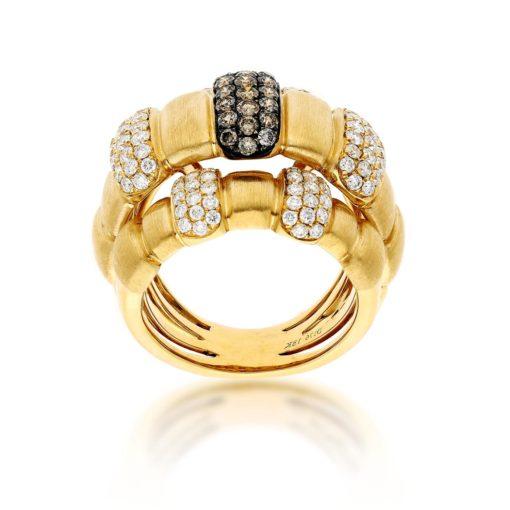 Brown Diamond RingStyle #: PD-LQ16033L