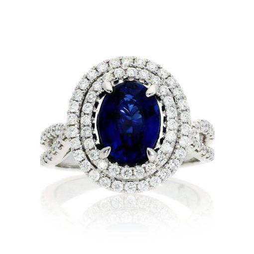 Sapphire Ring Style #: PD-LQ16188L