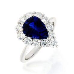 Sapphire Ring<br>Style #: PD-LQ18297L