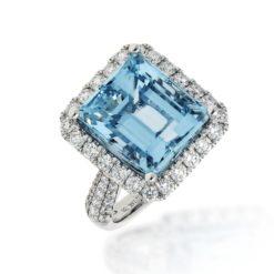 Aquamarine Ring<br>Style #: PD-LQ20111L