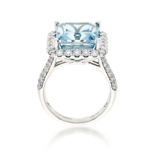 Aquamarine RingStyle #: PD-LQ20111L
