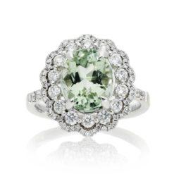 Green Topaz Ring<br>Style #: PD-LQ22452L