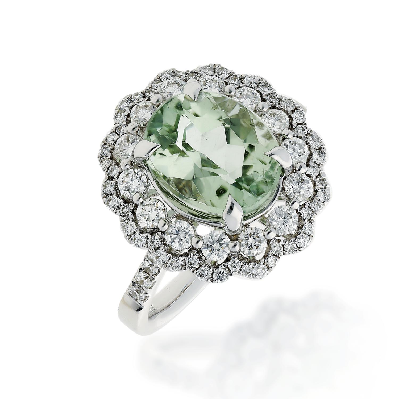 Green Topaz RingStyle #: PD-LQ22452L