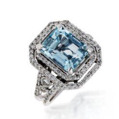 Aquamarine RingStyle #: PD-LQ8514L