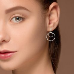 Diamonds Earrings<br>Style #: PD-JLQ142E