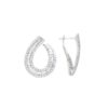 Baguette Diamonds Earrings<br>Style #: PD-LQ10007E