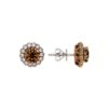 Brown Diamonds Earrings<br>Style #: PD-LQ97452E