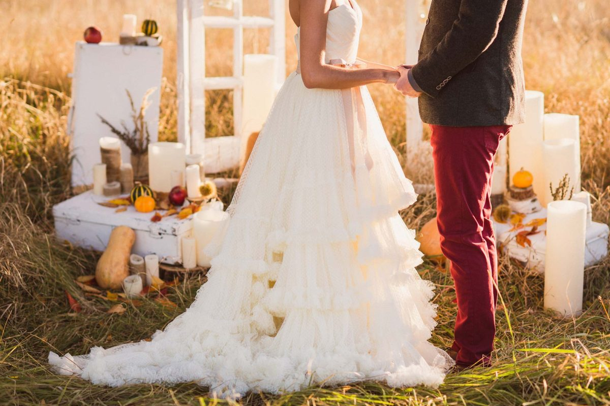 Creating the perfect fall wedding